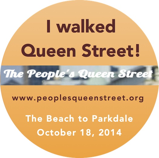 I walked Queen Street4