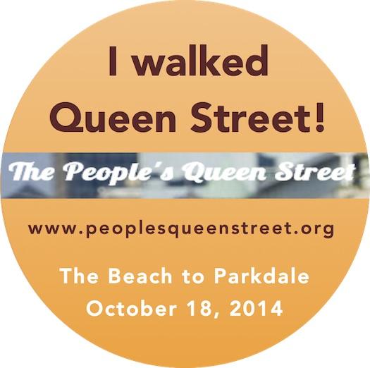 I walked Queen Street4